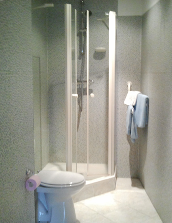 Kamer 1 - Badkamer
